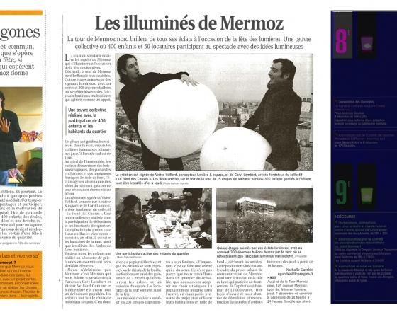 Presse Fêtes des lumières 2006