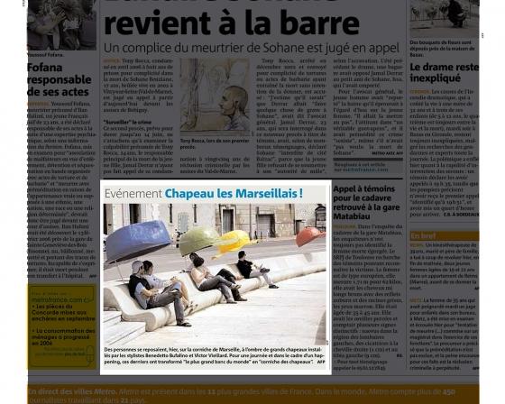 Quotidien Métro - 2007