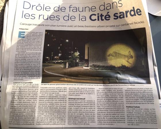 Journal Tribune de Genève - 2017