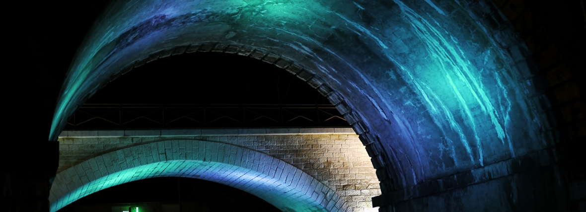 Mise en lumière des viaducs SNCF – Villefranche
