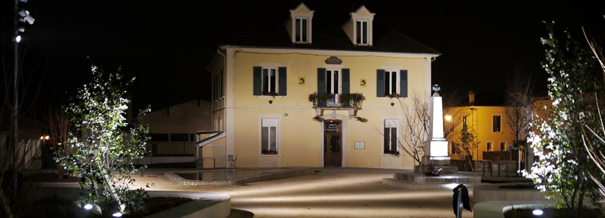 Rénovation de la place du Champs de Mars – St jean de Moirans